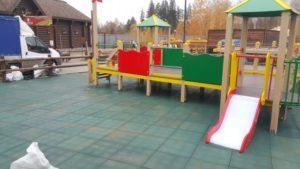 Детская игровая площадка в зоопарке ижевска